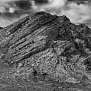 Pahranagat Mountains Art Print