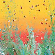 Paint Number Ninteen Diptych Art Print