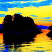 Painting The High Sky And The Deep Sea  Art Print
