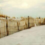 Painted Beach Art Print