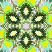 Painted Cymatics 181.66hz Art Print