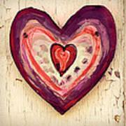 Painted Heart Art Print