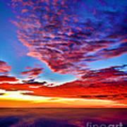 Painted Heavens Art Print