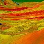 Painted Hills 2 Art Print