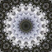 Painted Kaleidoscope 16 Art Print