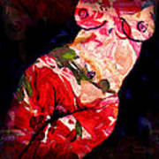 Painted Lady Art Print
