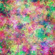 Painted Pixels Art Print
