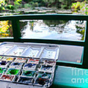 Painting In Giverny Art Print