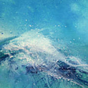 Painting Of An Ocean Wave Art Print