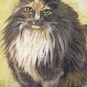 Painting Of Shelby Print by Sharon Burger