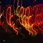 Painting With Light 3 Art Print