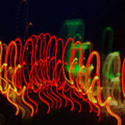 Painting With Light 5 Art Print