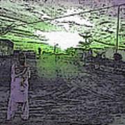 Pakistani Man At Sunset 1 Art Print