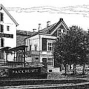 Pakkhuset Art Print by Janet King