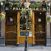 Palace Bar - Dublin Ireland Art Print