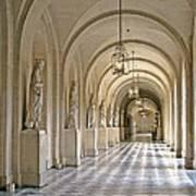 Palace Corridor Art Print