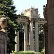 Palace Fine Arts Pillars And Urn Art Print