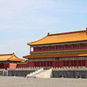 Palace Forbidden City In Beijing Art Print