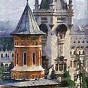 Palace Of Culture Art Print