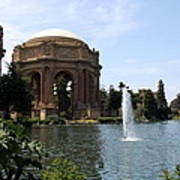 Palace Of Fine Arts And Lagoon Art Print