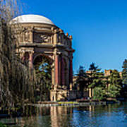 Palace Of Fine Arts In Color Art Print