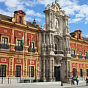 Palace Of San Telmo In Seville Art Print