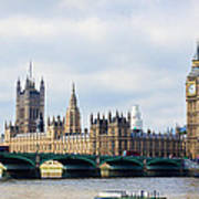 Palace Of Westminster Art Print