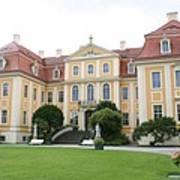 Palace Rammenau - Germany Art Print