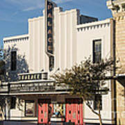 Palace Theater --- Georgetown Texas  Art Print
