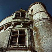 Palace Tower Of Chenonceau Art Print
