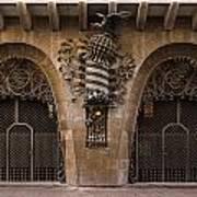 Palau Guell 1886 To 88 Gaudi Barcelona Spain Dsc01413 Art Print