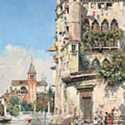 Palazzo Contarini Art Print