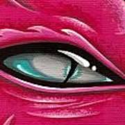 Pale Eye Of Tourmaline Art Print by Elaina  Wagner