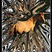 Pale Horse Art Print by Aidan Moran