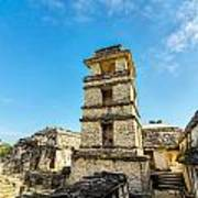 Palenque Palace Tower Art Print