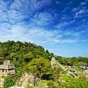 Palenque View Art Print