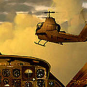 Palette Of The Aviator Art Print