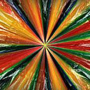 Palette Wheel Art Print