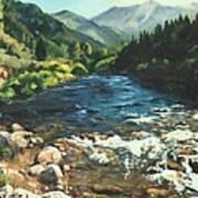 Palisades Creek  Art Print