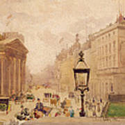 Pall Mall From The National Gallery Art Print