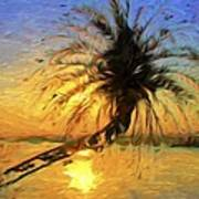 Palm Beauty Art Print