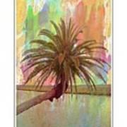 Palm On The Loop Art Print