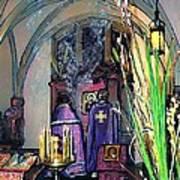 Palm Sunday Liturgy Art Print by Sarah Loft