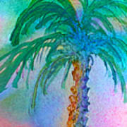 Palm Tree Study Art Print