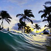 Palm Wave Art Print