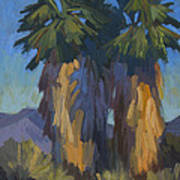 Palms With Skirts Art Print