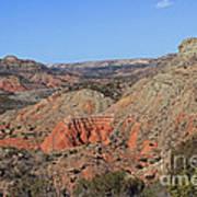 Palo Duro Canyon 021013.282 Art Print