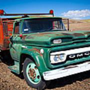 Palouse Gmc Truck Art Print