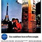 Pan Am To Paris Art Print
