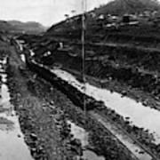 Panama Canal, 1908 Art Print